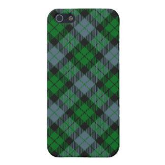 MacKay/caso del iPhone 4/4S del tartán de McCoy iPhone 5 Carcasas