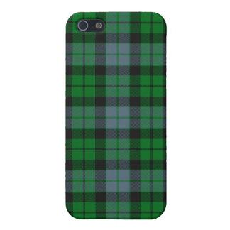 MacKay/caso del iPhone 4/4S del tartán de McCoy iPhone 5 Protectores