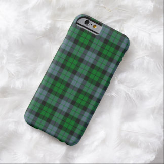 MacKay/caso del iPhone 6 del tartán de McCoy Funda De iPhone 6 Barely There