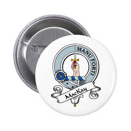MacKay Clan Badge Pin