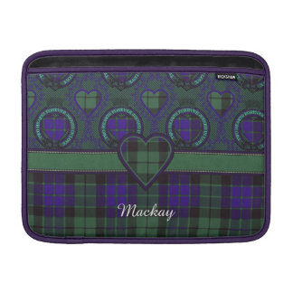 Mackay clan Plaid Scottish tartan MacBook Sleeve