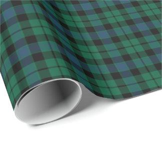 MacKay Clan Tartan Wrapping Paper