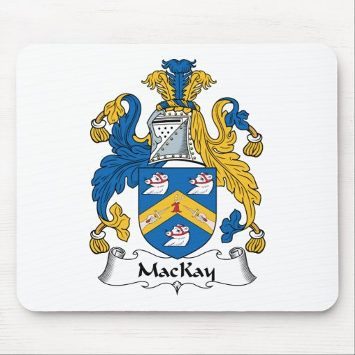 MacKay Family Crest Mouse Mats