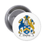 MacKay Family Crest Pinback Button