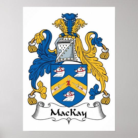 MacKay Family Crest Poster
