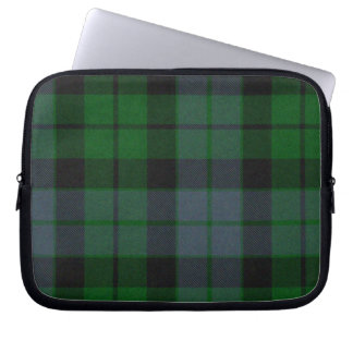 MacKay Green Tartan Plaid Laptop Cover Computer Sleeves