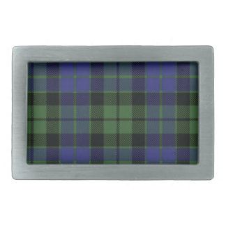 Mackay Scottish Tartan Belt Buckle