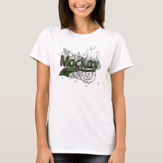 MacKay Tartan Grunge T-Shirt