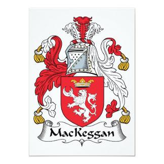 MacKeggan Family Crest Card