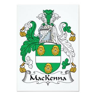 MacKenna Family Crest Card