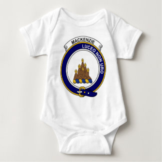 MacKenzie Clan Badge Baby Bodysuit