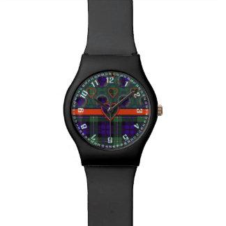 Mackenzie clan Plaid Scottish tartan Watch