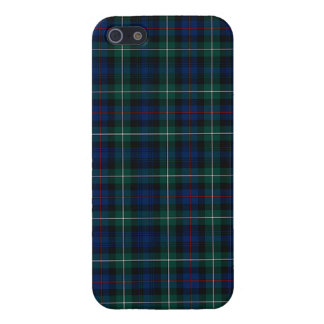Mackenzie Clan Royal Blue and Forest Green Tartan Case For iPhone SE/5/5s