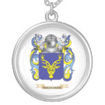 MacKenzie Coat of Arms (Family Crest) Personalized Necklace