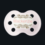 "&quot;Mackenzie&quot; Custom Personalized Pacifier<br><div class=""desc"">Mackenzie</div>"