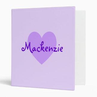 Mackenzie en púrpura