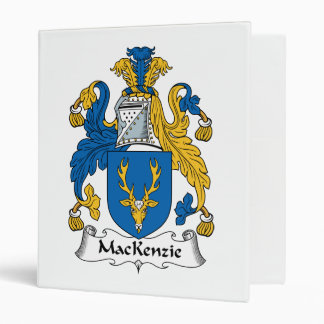 MacKenzie Family Crest Binder