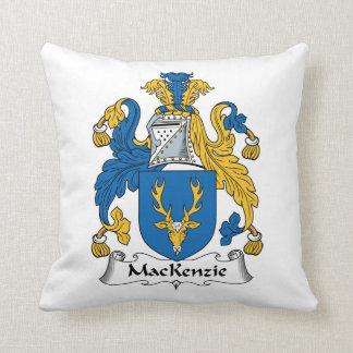 MacKenzie Family Crest Throw Pillow