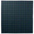 Mackenzie Family Tartan Dark Green and Blue Plaid Napkin