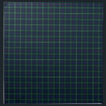"""Mackenzie Family Tartan Dark Green and Blue Plaid Napkin<br><div class=""""desc"""">Set of four cloth napkins with the Mackenzie family clan tartan pattern. Traditional vintage Scottish plaid from 1778 in dark blue and forest green with red,  black,  and white accents. Matching placemats and table runner available.</div>"""