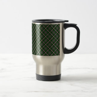 Mackenzie/McKenzie Clan Tartan Designed Print Stainless Steel Travel Mug