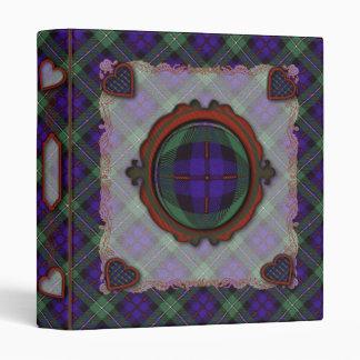 Mackenzie Scottish clan tartan - Plaid Binder