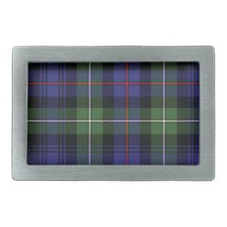 Mackenzie Scottish Tartan Belt Buckle