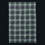 "Mackenzie Scottish Tartan Kitchen Towel<br><div class=""desc"">There are a few different tartan designs which are associated with the Mackenzie clan, the pattern on this kitchen towel is the more modern Mackenzie dress tartan. Maybe you just like the color and pattern of this tartan, or plaid, kitchen towel, but there are also a number of variations of...</div>"
