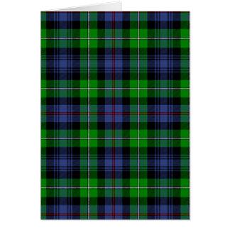 MacKenzie Tartan (aka Seaforth Highlanders Tartan) Cards
