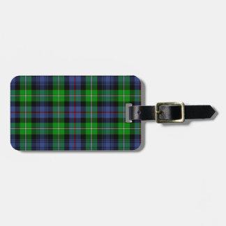 MacKenzie Tartan (aka Seaforth Highlanders Tartan) Luggage Tag