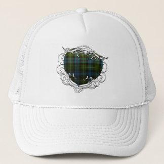 MacKenzie Tartan Heart Trucker Hat