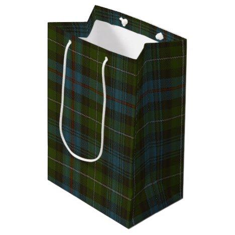 MacKenzie Tartan Medium Gift Bag