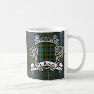 MacKenzie Tartan Shield Coffee Mug