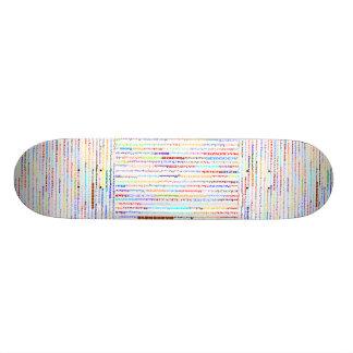 Mackenzie Text Design II Skateboard