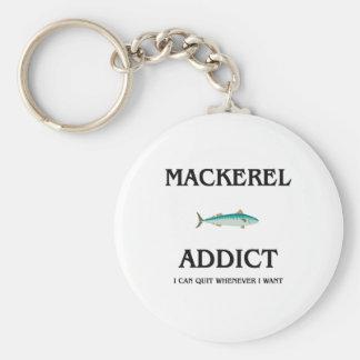 Mackerel Addict Keychain