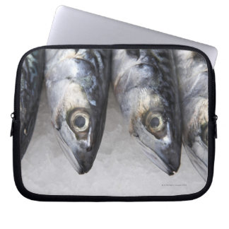 Mackerel fish, fresh catch of the day laptop sleeve