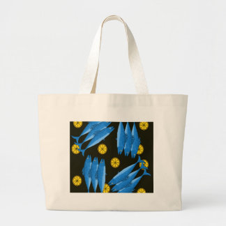 Mackerel meal large tote bag