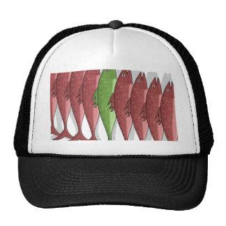 Mackerel military 2 trucker hat