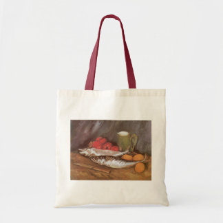 Mackerels, Lemons and Tomatoes by Vincent van Gogh Tote Bag