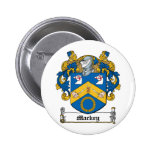 Mackey Family Crest Pinback Button