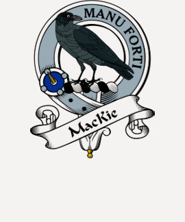MacKie Clan Badge Tshirts