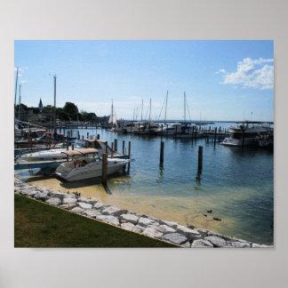 Mackinac boats print