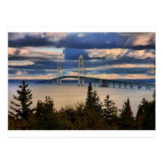 Mackinac Bridge 1060 Post Card