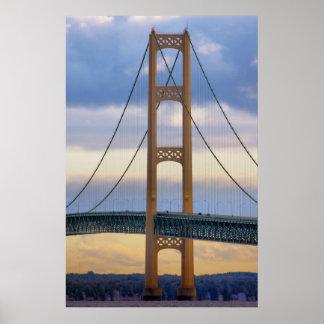 Mackinac Bridge #1083 Poster