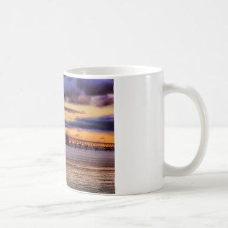 Mackinac Bridge 1155 Gold Coffee Mug