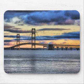Mackinac Bridge #1155 Mouse Pad