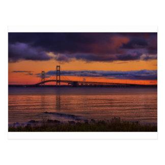 Mackinac Bridge 1192 Postcard