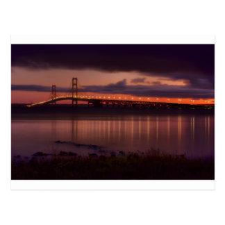 Mackinac Bridge 1240-2 Postcard