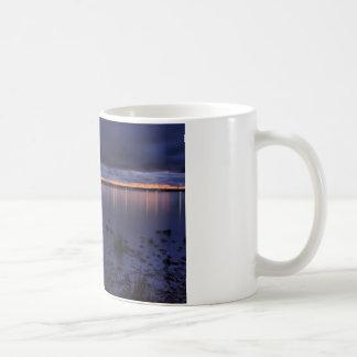 Mackinac Bridge 1243 Blue Coffee Mug