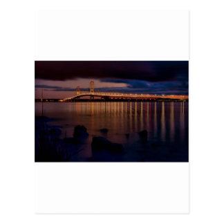 Mackinac Bridge 1257 Postcard